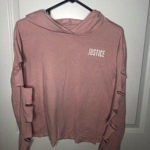 Distressed Justice Hoodie